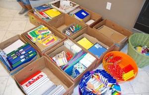 School supplies, GCAA