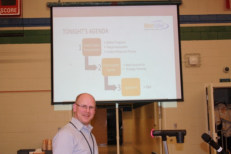 Safety forum held on Monday.