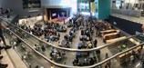 Panoramic view of Manor New Tech Middle School Grand Opening.