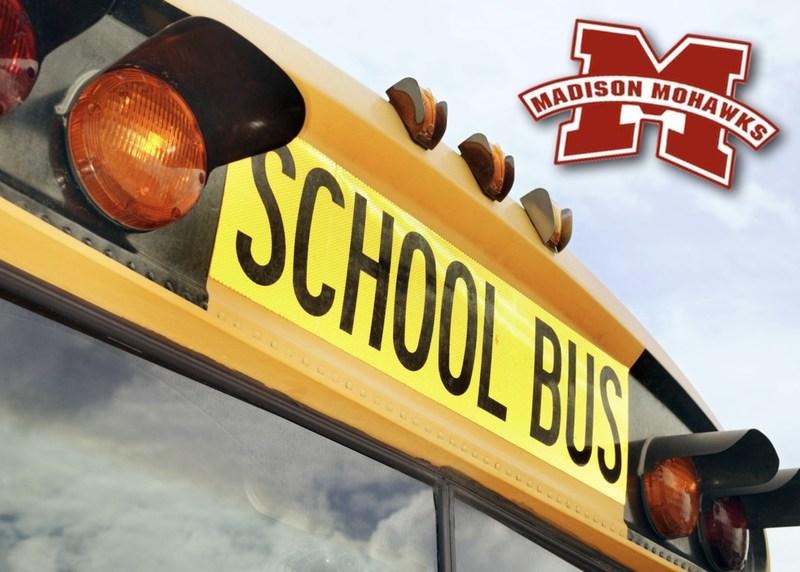 Bus with Madison logo