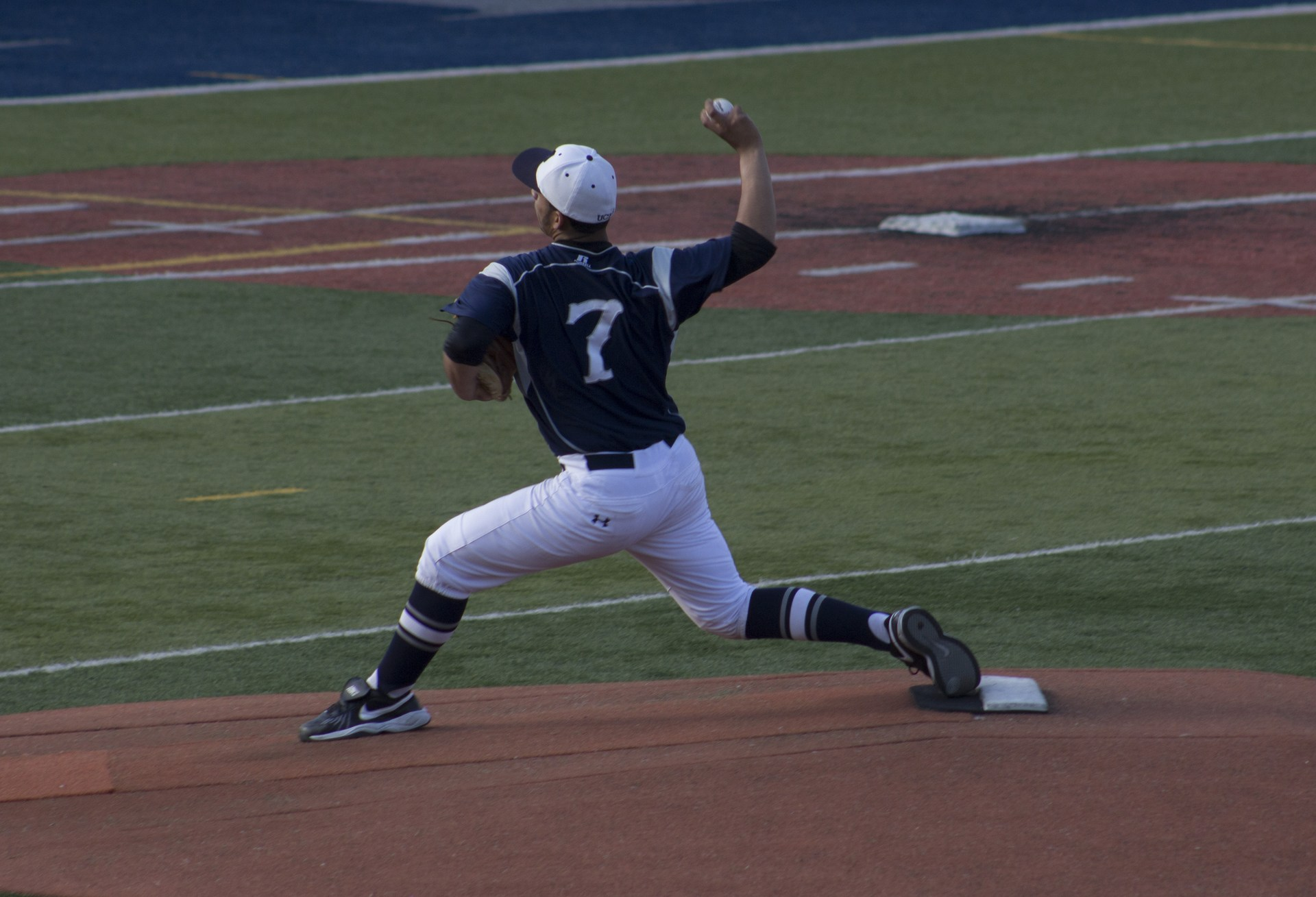 throwing ball to catcher
