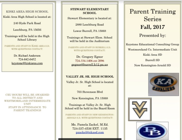 Parent Information Flyer Image