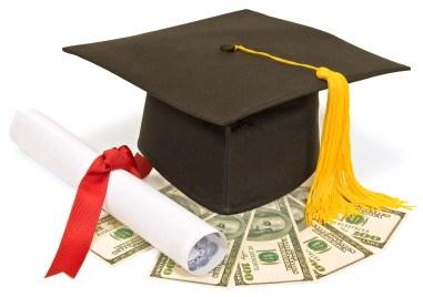 Graduation Cap, Diploma, Money