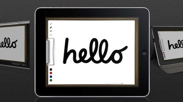 iPad Hello image