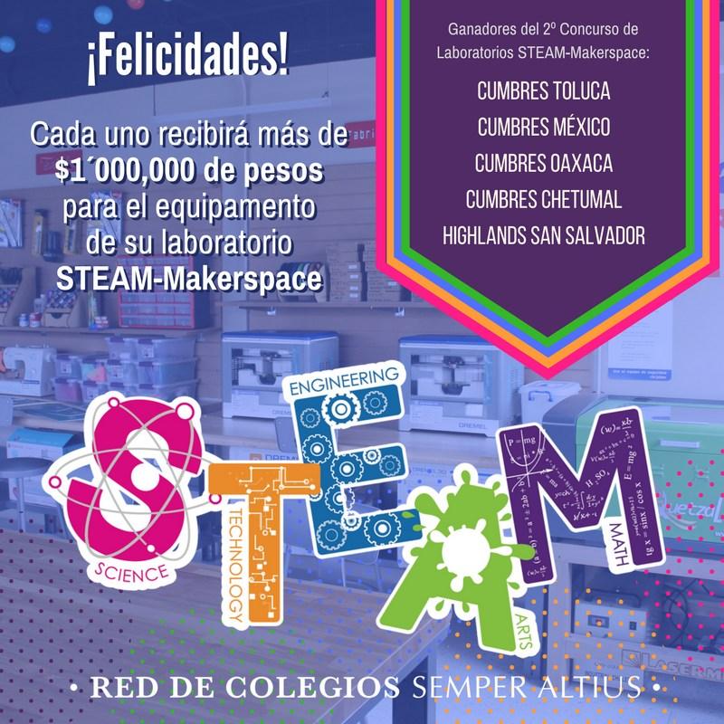 10 Laboratorios STEAM-Makerspace en los colegios de la Red Semper Altius Featured Photo