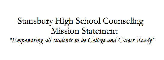 Stansbury High Counseling Department Mission Statement