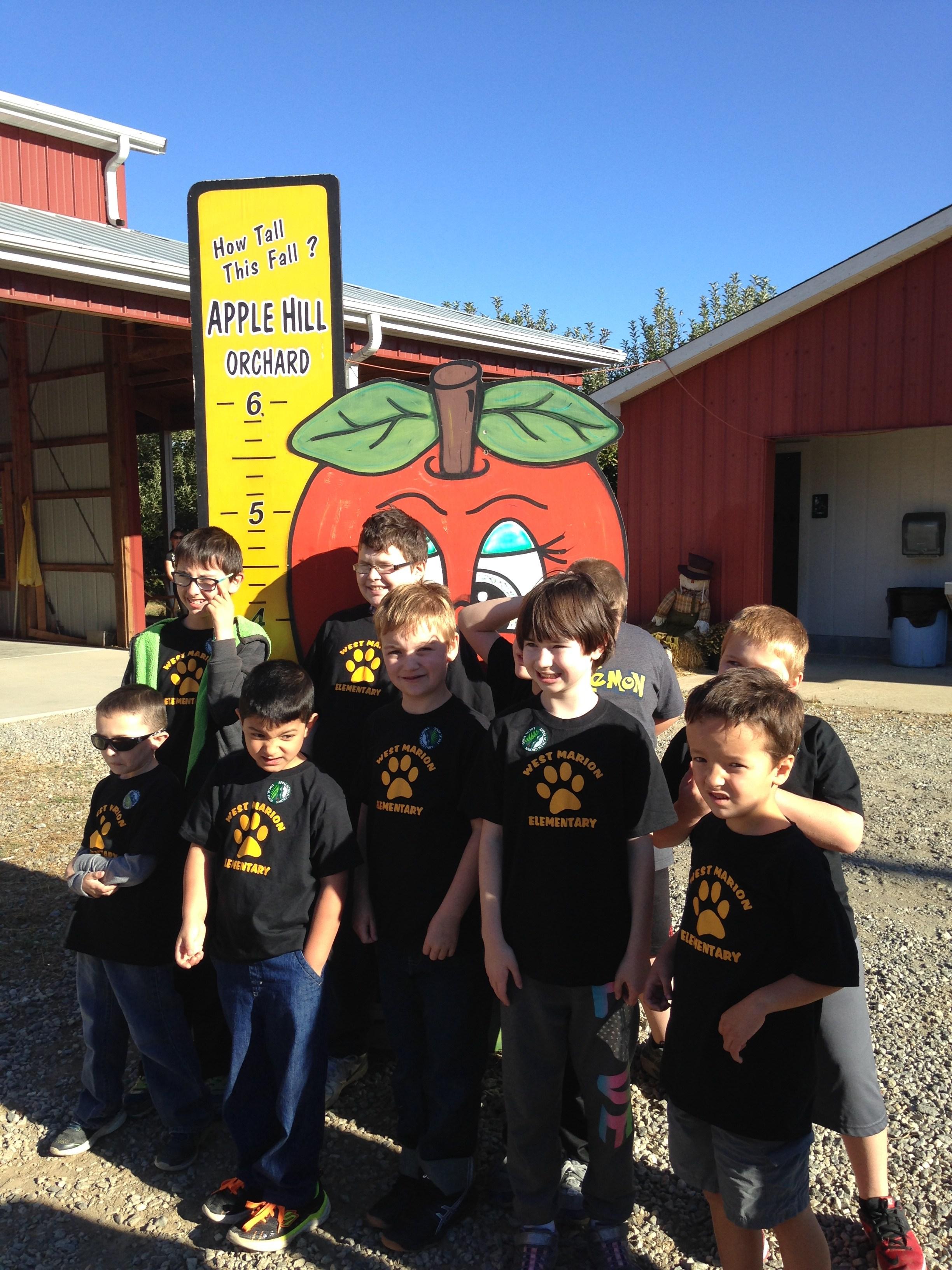 Fun at the apple farm