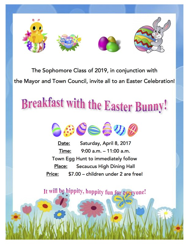 Breakfast with the Easter Bunny! Thumbnail Image