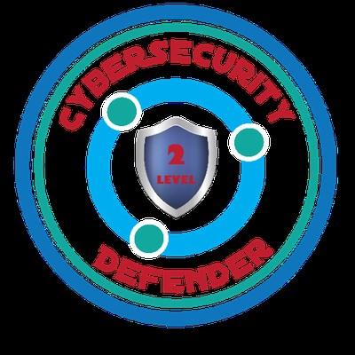 Cybersecurity Defender Badge