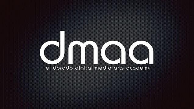 El  Dorado Digital Media Arts Academy logo - DMAA.