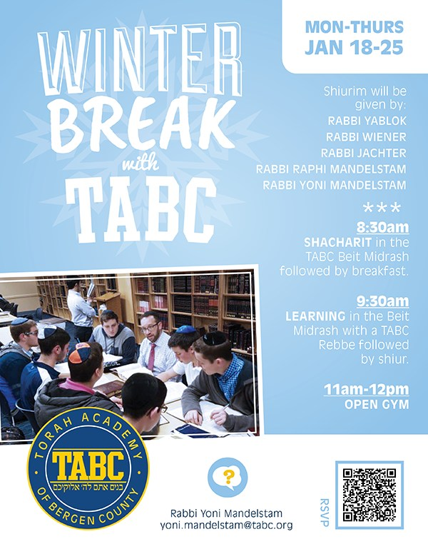 Winter Break @ TABC! Thumbnail Image