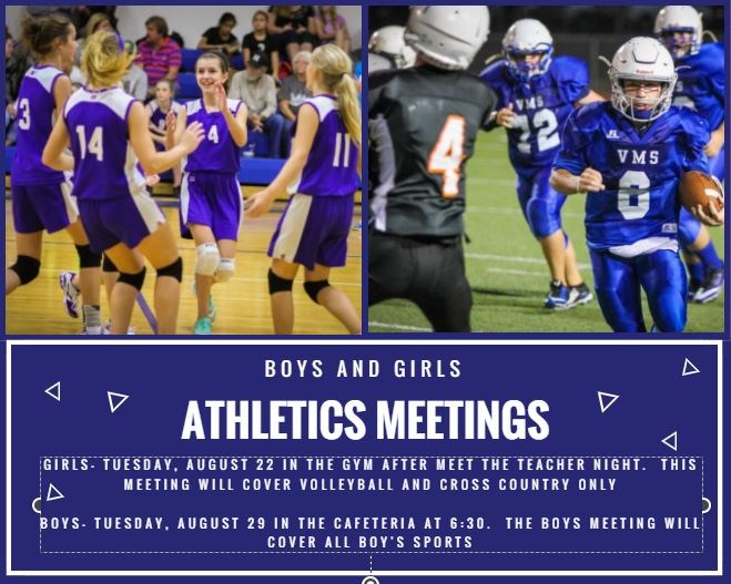 Boys and Girls Athletics Meetings Thumbnail Image