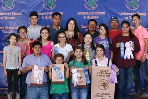 Pictured are VMHS FFA students that attended the 79th Annual Rio Grande Valley Livestock Show.