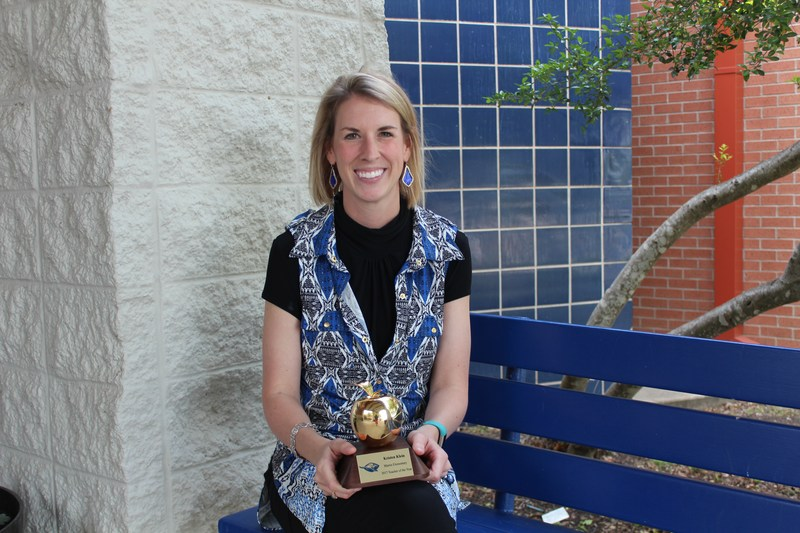 Mary Martin would like to congratulate Kristen Klein for be named Mary Martin Elementary: Teacher of the Year 2017!!!