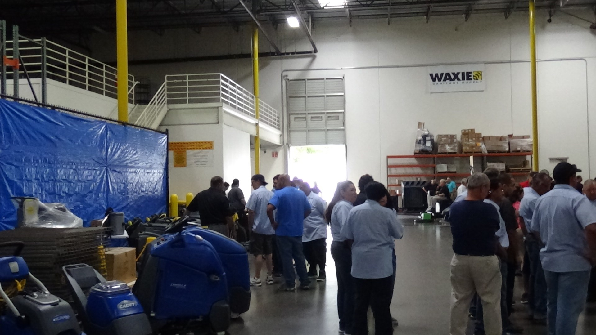 Waxie Janitorial Supply Vendor Show