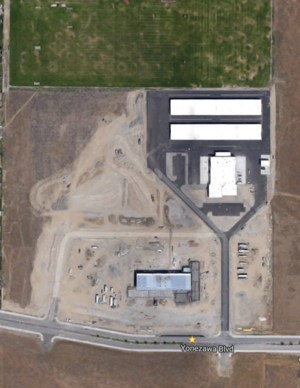 Google Maps image of new Elementary school location. It will be located to the West of CBTech.