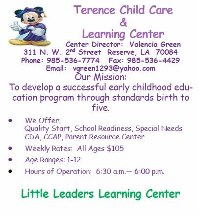 Terence Child Care & Learning Center