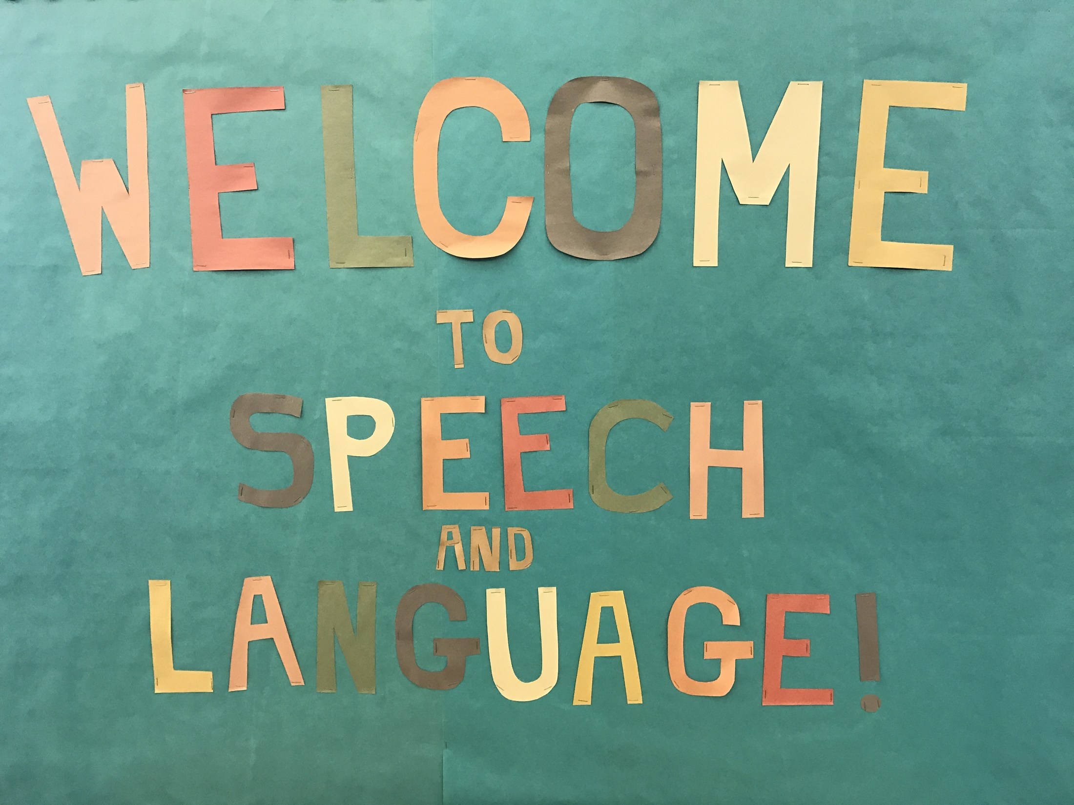 Picture of the Speech Language Bulletin Board