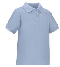 Baby blue uniform shirt