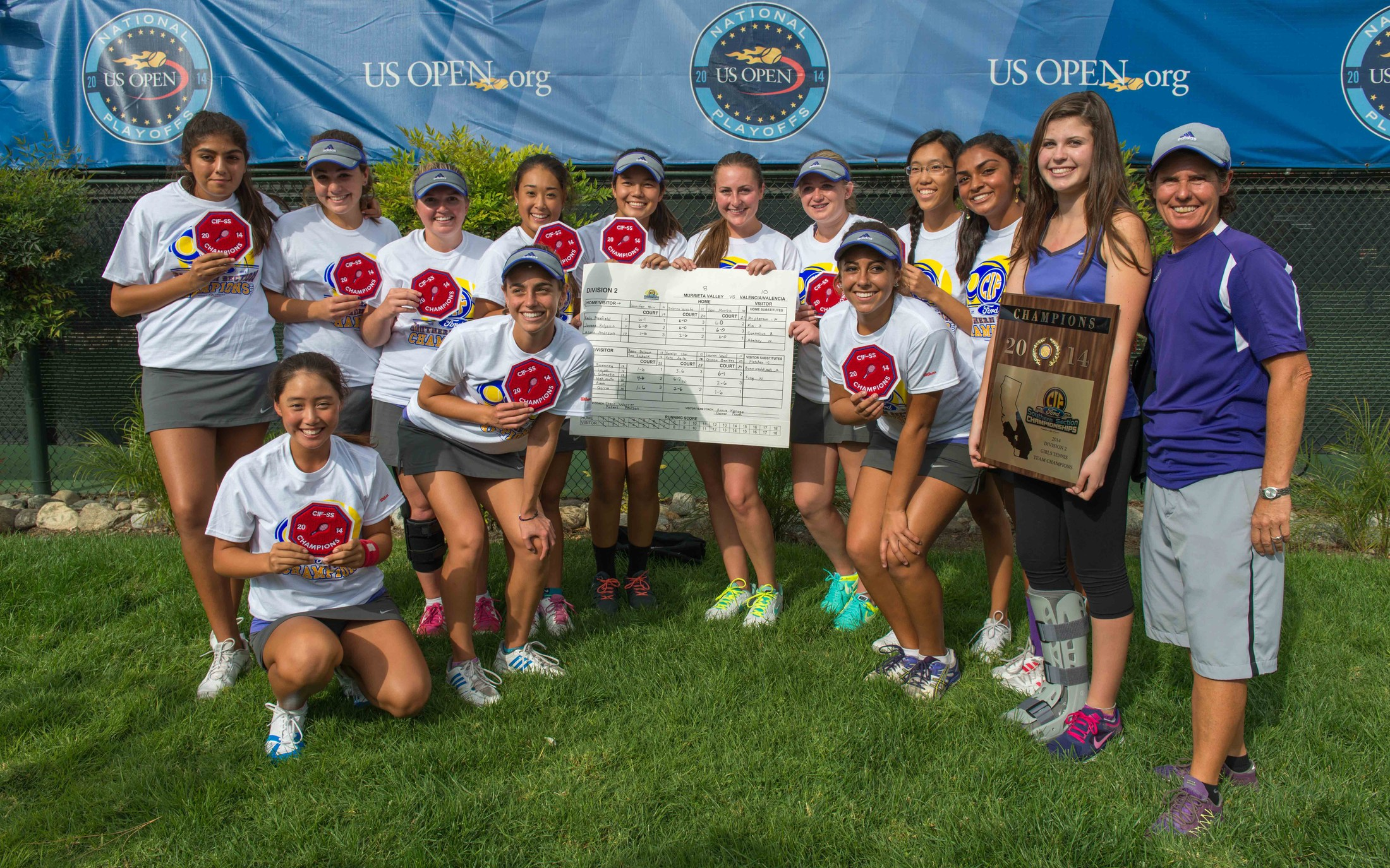CIF Champions at Claremont Club