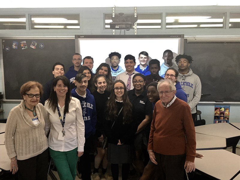 Holocaust survivor Peter Fleischmann shared his amazing journey to freedom with UC students Thumbnail Image