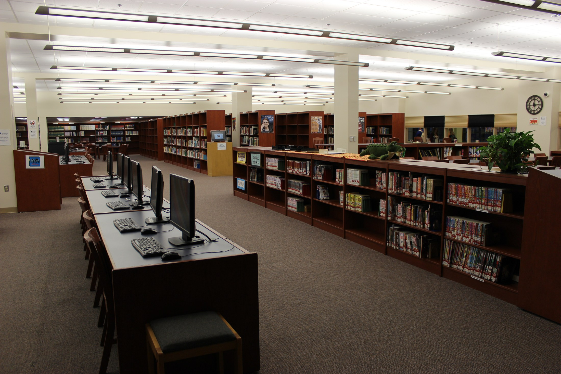 Gateway High School Library