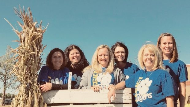 Legacy Staff During Fall