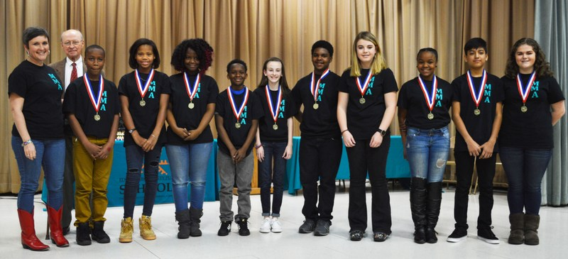 Congratulations to our Middle School Battle of the Books Team! Thumbnail Image