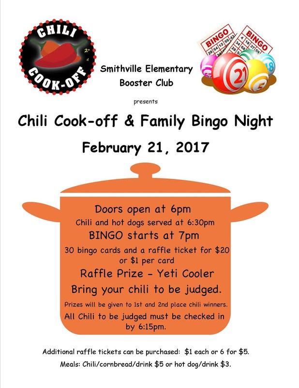 Chili Cook-Off and Family Bingo Night Thumbnail Image