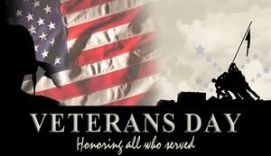 Veteran's Day - November 11th