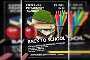 Back to School / De vuelta a la escuela