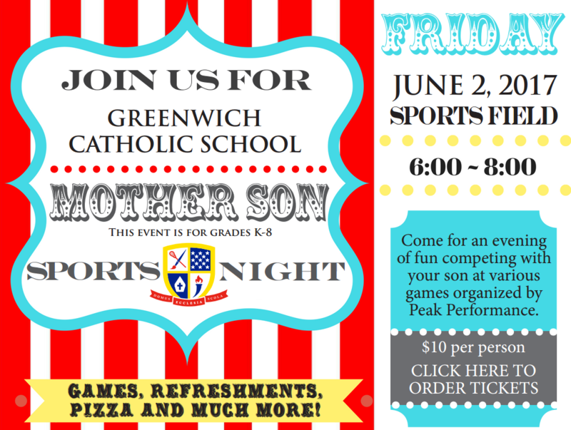 Join us on June 2nd for the Mother Son Outing! Thumbnail Image