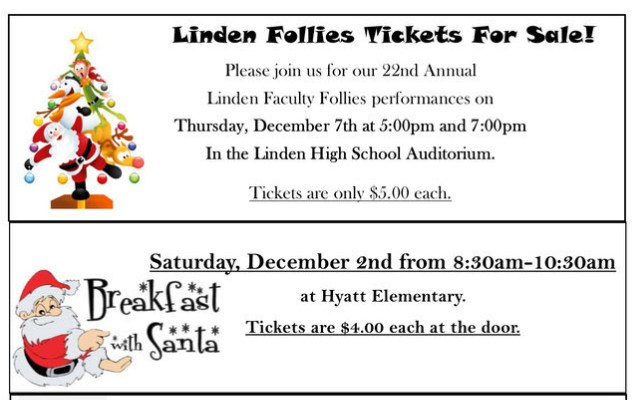Linden Community Schools Holiday Events Thumbnail Image