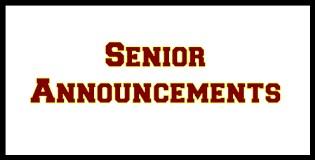 Senior Announcements Thumbnail Image