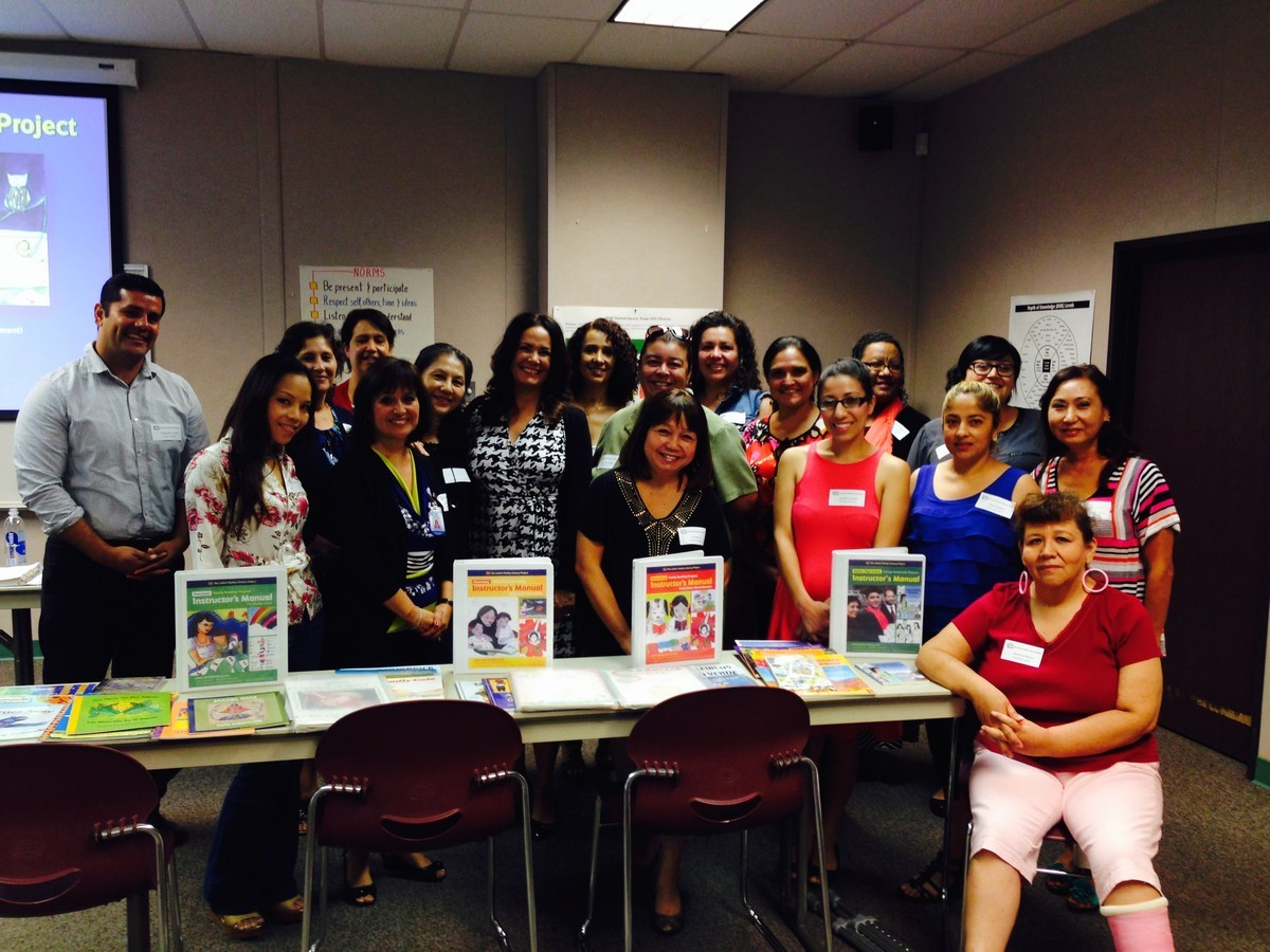 Community Liasons at Latino Family Literacy Project