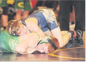 Coloma wrestling photo