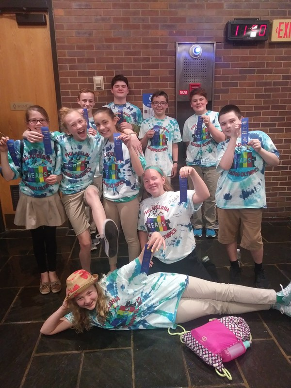 GWCS Students Rock the Reading Olympics Featured Photo