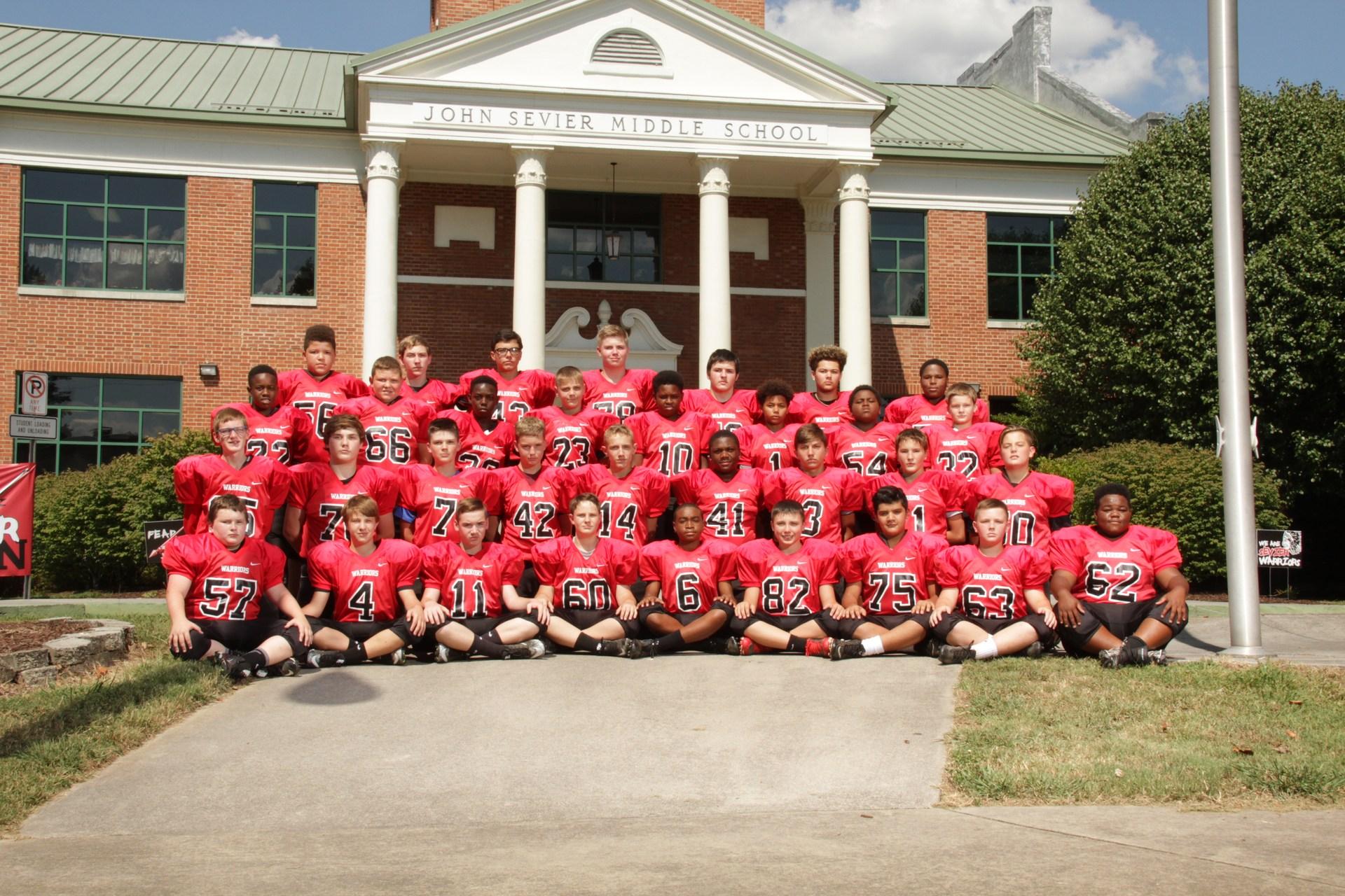 JSMS Football Team