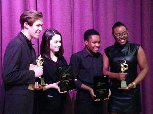 The winners of this years Roger Rees Awards for Excellence in Theater Performance, representing high schools throughout the five boroughs and Long Island.