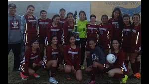 Lady Grizzly Soccer place 2nd at Corcoran