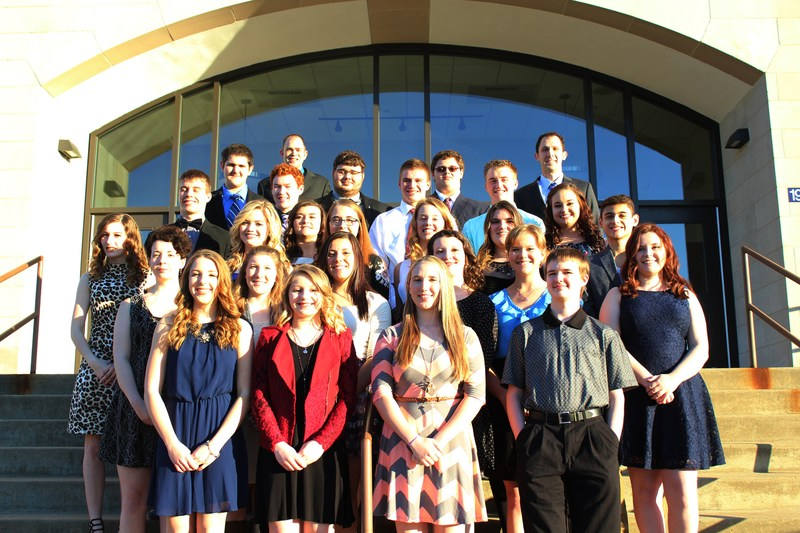 2017 Carmichaels Area NHS Induction Ceremony Thumbnail Image