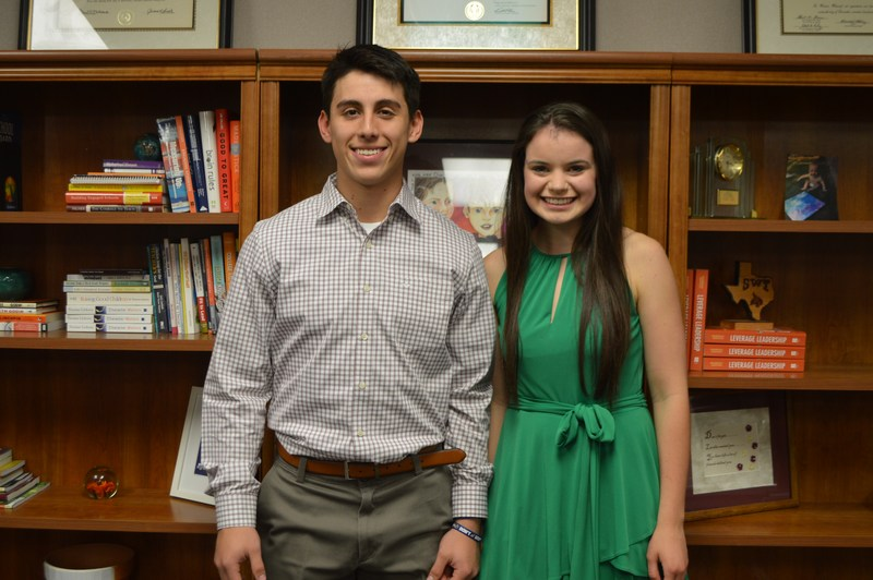 December Students of the Month: Emily Mann & Marcos Villegas Featured Photo