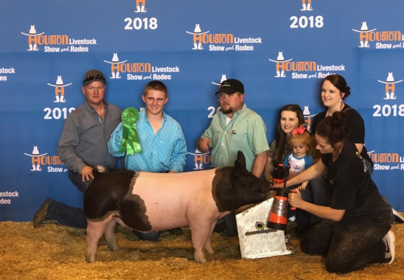 Coldspring FFA Rocked the Houston Livestock Show Thumbnail Image