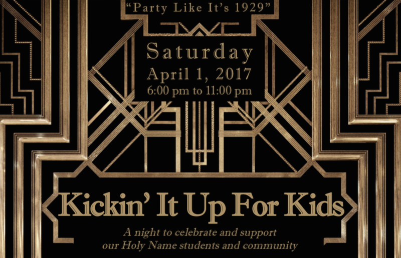 April 1st Holy Name Auction: Kickin it up for Kids! Thumbnail Image