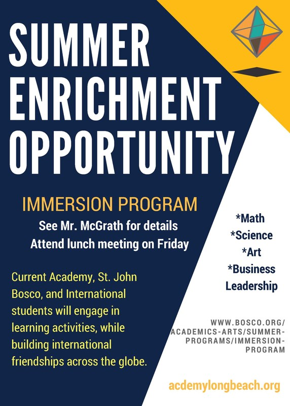 Summer Enrichment Opportunity Thumbnail Image