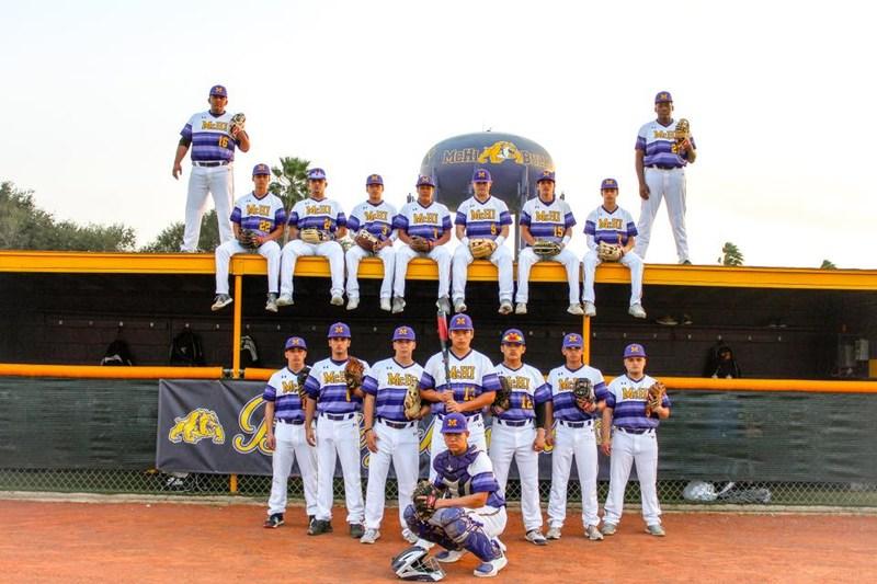 McAllen High baseball team