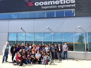 8th Graders visit Schwan Cosmetics USA, Inc. Thumbnail Image
