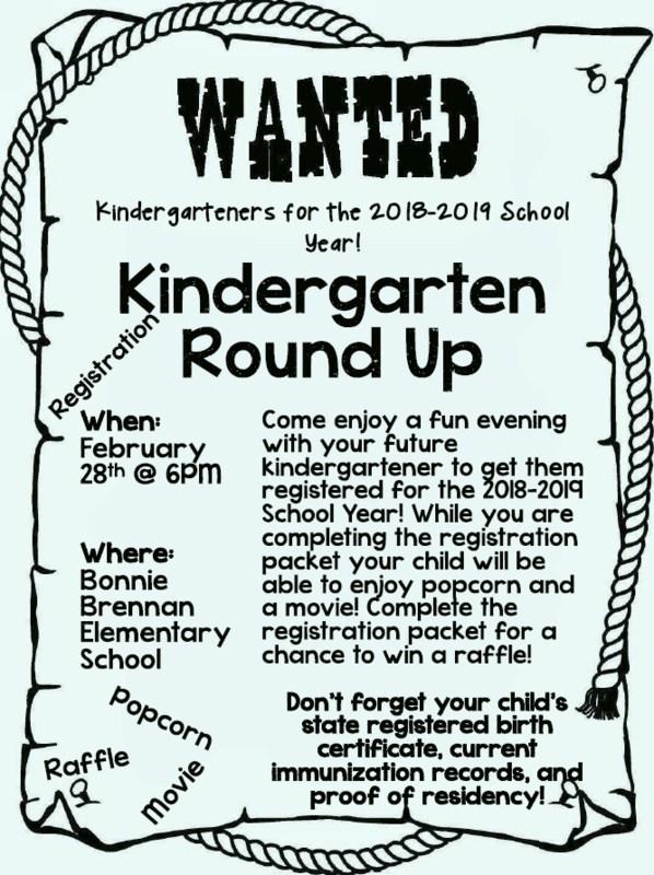 Kindergarten Round Up Featured Photo