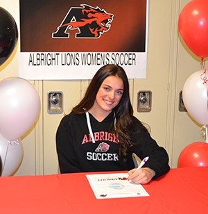 Stephanie Calafiore Signs with Albright College Featured Photo