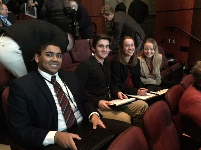STUDENT ADVISORS JOINED SCHOOL BOARD AT WSSDA CONFERENCE Thumbnail Image